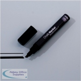 Sigel Chalk Marker Chisel Tip 1-5mm Line Black