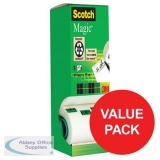 Scotch Magic Tape Value Pack 19mmx33m Matt Ref 8-1933R8 [Pack 8]