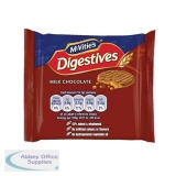 McVities Milk Chocolate Digestives Biscuits Twinpack Ref 0401066 [Pack 48]