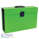 Rexel JOY Expanding Organiser File 19 Part Lovely Lime Ref 2104021