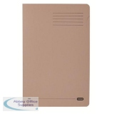 Elba StrongLine Square Cut Folder 320gsm 32mm Foolscap Buff Ref 400053602 [Pack 50] [REDEMPTION]