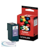 Lexmark No35 High Yield Inkjet Cartridge Colour 18C0035E