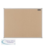 Nobo Basic Cork Board Aluminium Frame 1200x900mm Ref 1904064