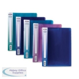 Snopake Electra Display Books 24 Pockets A4 Assorted Ref 12219 [Pack 10]
