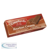 Crawfords Bourbon Biscuits 150g Ref UTB021 [Pack 12]