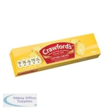 Crawfords Custard Cream Biscuits 150g [Pack 12] Ref UTB001
