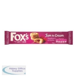 Fox s Biscuits Jam n Cream Rings Real Raspberry Shortcake biscuits Ref A07891