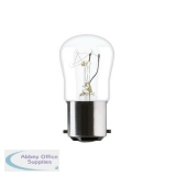 GE 15W Sewing machine B15d Pygmy Incandescent Bulb 85lm Ref31831 240V *Up to 10 Day Leadtime*