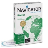 Navigator Universal Paper Multifunctional 80gsm A4 Fast PackWht Ref127565[2500Shts][REDEMPTION]Apr-June20