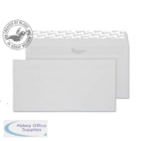 Blake Premium Envelope DL Wallet Peel & Seal 120gsm Smooth Diamond White Ref 36882 [Pack 500]