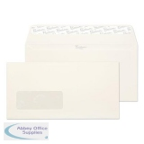 Blake Premium Business Envelopes Wallet Peel and Seal Window 120gsm DL High White Ref 39884 [Pack 500]