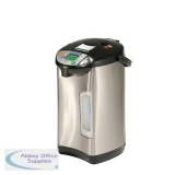 Addis Thermo Pot 5 Litre Stainless Steel / Black Ref 516522