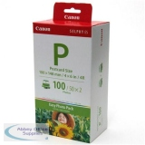 Canon E-P100 Easy Photo 4x6 inch Ink & Paper Cassette Pk 100Sh Ref 1335B001AA *3 to 5 Day Leadtime*
