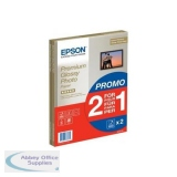 Bundle Epson A4 Premium Glossy Photo Paper 2x15 Sheet Pack Ref C13S042169 *3 to 5 Day Leadtime*