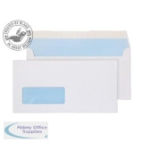Purely Everyday Wallet Peel & Seal Window 100gsm DL 110x220mm White Ref 23884 Pk500 *3to5 Day Leadtime*
