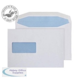 Purely Everyday Mailer Gummed Window White 90gsm C5+ 162x235mm Ref W156 Pk 500 *10 Day Leadtime*
