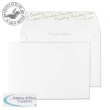 Creative Colour Wallet P&S Ice White 120gsm C6 114x162mm Ref 150 [Pack 500] *10 Day Leadtime*