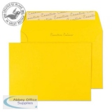 Creative Colour Egg Yellow Peel and Seal Wallet C6 114x162mm Ref 104 [Pack 500] *3 to 5 Day Leadtime*