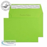Creative Colour Lime Green Peel and Seal Wallet C6 114x162mm Ref 107 [Pack 500] *3 to 5 Day Leadtime*