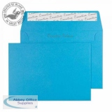 Creative Colour Caribbean Blue P&S Wallet C6 114x162mm Ref 110 [Pack 500] *3 to 5 Day Leadtime*