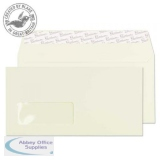 Blake Premium Business Wallet P&S Wndw 120gsm DL Oyster Wove Ref 71884 Pk500 *3to5 Day Leadtime*