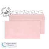 Blake Creative Colour DLplus Wallet Peel&Seal 120gsm Baby Pink Ref 201 [Pack 500] *3to5 Day Leadtime*