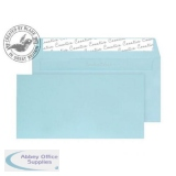 Blake Creative Colour DLplus Wallet Peel&Seal 120gsm Cotton Blue Ref 218 [Pack 500] *3to5 Day Leadtime*