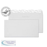Blake Creative Colour DLplus Wallet Peel&Seal 120gsm Milk White Ref 251 [Pack 500] *3to5 Day Leadtime*