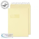 Blake Premium Business Pkt Wndw P&S 120gsm C4 324x229mm Vellum Wove Ref 51892 Pk250 *3to5 Day Leadtime*