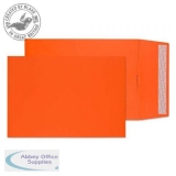 Creative Colour Gusset Pocket P&S Pumpkin Orange C4 324x229x25mm Ref 9050 Pk 125 *10 Day Leadtime*