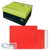 Creative Colour Pillar Box Red P&S Gusset C4 324x229x25mm Ref 9060 [Pack 125] *10 Day Leadtime*
