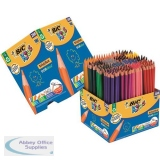 Bic Kids Evolution Colouring Pencils Wood-free Resin 24 Vibrnt Astd Cols Class Pk Ref 907901 [Pack 288]