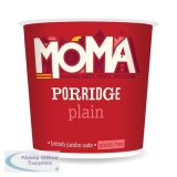 Moma Plain Porridge Pot with Natural Flavours Gluten Free Just Add Hot Water Ref 0499092 [Pack 12]