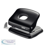 Rapid FC20 4-Hole Punch Capacity 20x 80gsm Sheets Black Ref 20922801