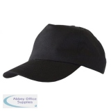 Click Workwear Baseball Cap Black Ref BCBL *Up to 3 Day Leadtime*