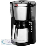 Melitta Therm Timer Coffee Machine Black/Stainless Steel Ref 6764395