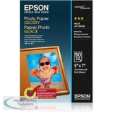 Epson Premium Photo Paper Gloss 200gsm 130x180mm Ref C13S042545 [50 Sheets]