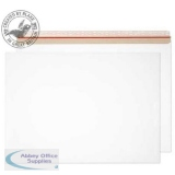 Purely Packaging Envelope All Board P&S 400gsm 444x625mm White Ref PPA20 [Pk 50] *3 to 5 Day Leadtime*