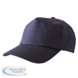 Click Workwear Baseball Cap Navy Blue Ref BCN *Up to 3 Day Leadtime*