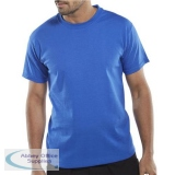 Click Workwear T-Shirt Heavyweight 180gsm 4XL Royal Blue Ref CLCTSR4XL *Up to 3 Day Leadtime*