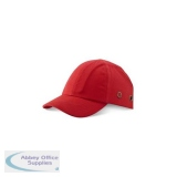 B-Brand Safety Baseball Cap Red Ref BBSBCRE *Up to 3 Day Leadtime*