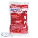 Rapid Relief Instant Hot Pack Latex Free Large 5in x 9in Ref RA43259 *Up to 3 Day Leadtime*