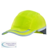B-Brand Safety Baseball Cap Saturn Yellow Ref BBSBCY *Up to 3 Day Leadtime*
