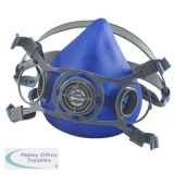 B-Brand Twin Filter Mask Adjustable Strap Large Blue Ref BB3000L *Up to 3 Day Leadtime*