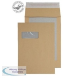 Blake Purely Packaging Env BoardBack GussP&S Wdw C4 120gsm White Ref93901MW [Pack125] *3to5 Day Leadtime*