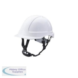 B-Brand Reduced Peak Helmet White Ref BBSHRPW *Up to 3 Day Leadtime*