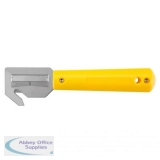 Pacific Handy Cutter Banding And Strapping Cutter Enclosed Blade Yellow Ref HH-700 *Up to 3 Day Leadtime*