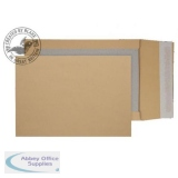 Purely Packaging Envelope Board Backed Gusset P&S C4 Manilla Ref 93935M [Pk 125] *10 Day Leadtime*