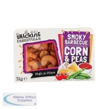 Snacking Essentials Smokey Barbecue Corn & Peas Snack Pot 31g Ref 512531 [Pack 9]
