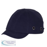 B-Brand Short Peak Safety Baseball Cap Navy Blue Ref BBSPSBCN *Up to 3 Day Leadtime*